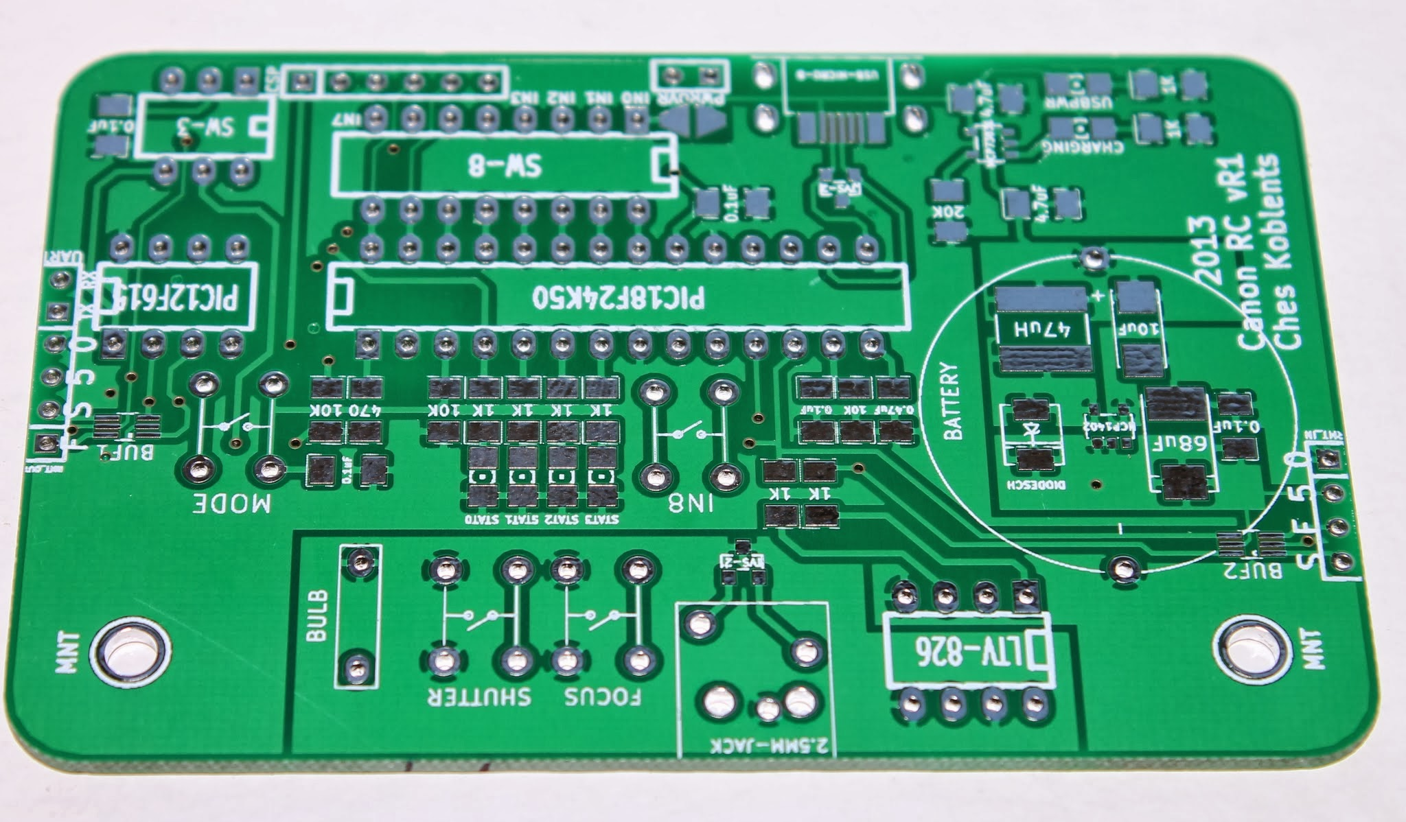 First Boards from Seeedstudio Fusion | Koblents com