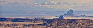 Mitten Rock and Ship Rock Pano, New Mexico