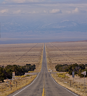 US 50 through Nevada