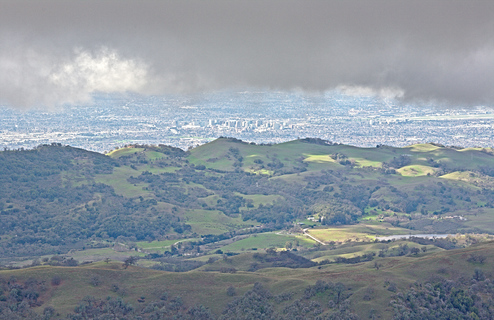 Green Hills and San Jose from Lick