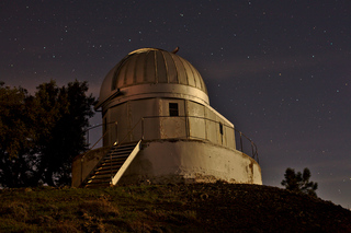 Small Telescope At Lick Observatory