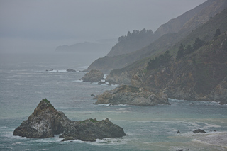 Foggy Big Sur